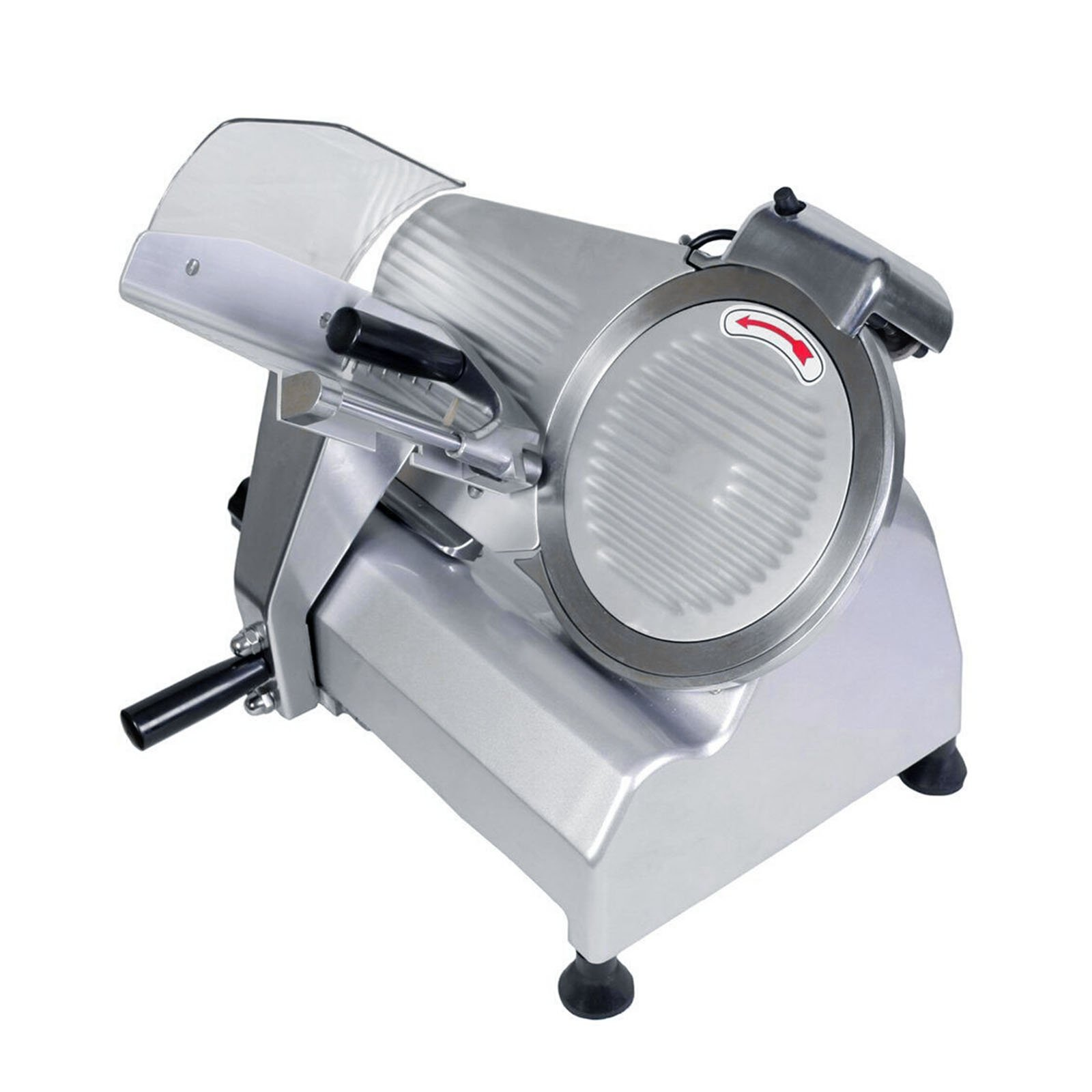 FoodKing Meat Slicer Electric Food Slicer Commercial Deli Slicer 240W 10 Inch Blade Heavy Duty for Meat Chopper Butcher Cutter (10 Inch)