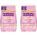 Brach's Tiny Conversation Hearts Candy, Assorted, 33 Ounce, Pack of 2