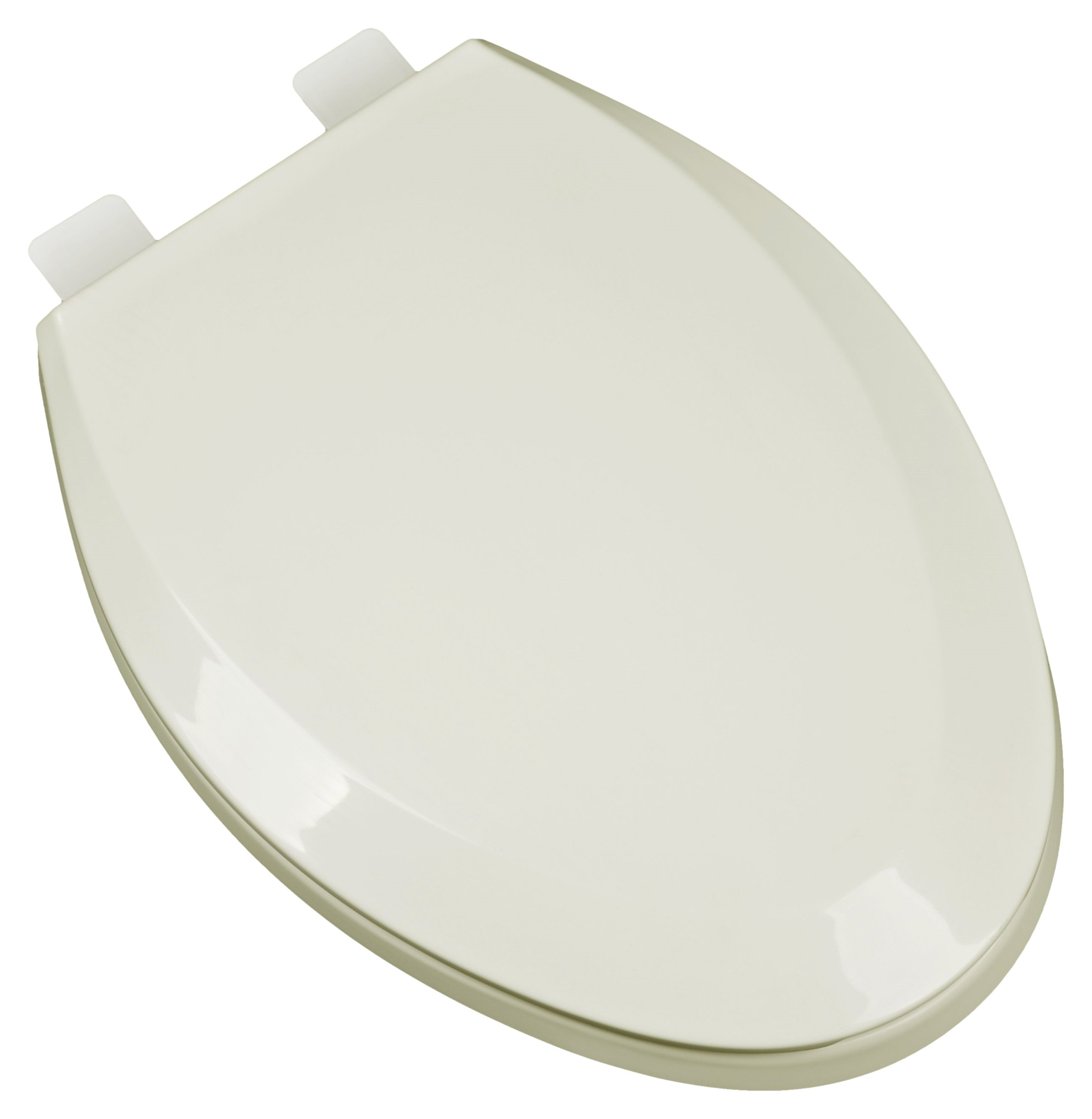 Bath Décor 2F1E5-02 Premium Plastic Elongated Toilet Seat with Adjustable Hinge