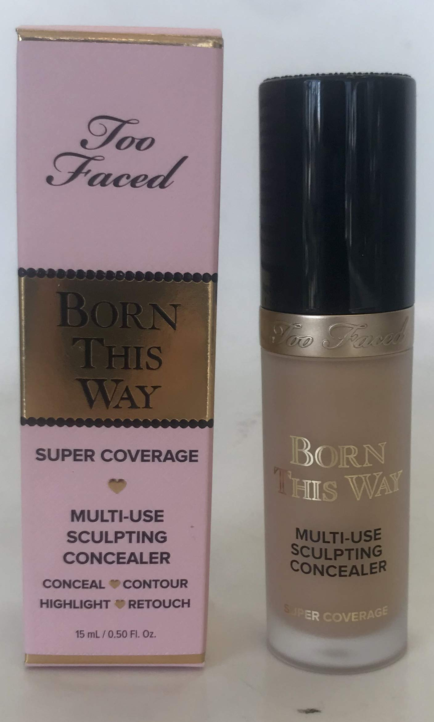 Born this Way Super Coverage Multi-Use Sculpting Concealer Natural Beige