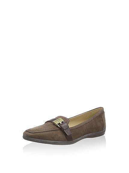 Geox Mocasines Clásicos Kalinda Café EU 37: Amazon.es: Zapatos y complementos