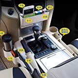 Stowing Tidying - Seat Storage Box Water Cup Holder for for Toyota Land Cruiser 200 2016 2017 2018 2019 Car Accessories…