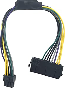 Block Erupter 24 Pin to 8-Pin Power Supply ATX PSU Adapter Cable