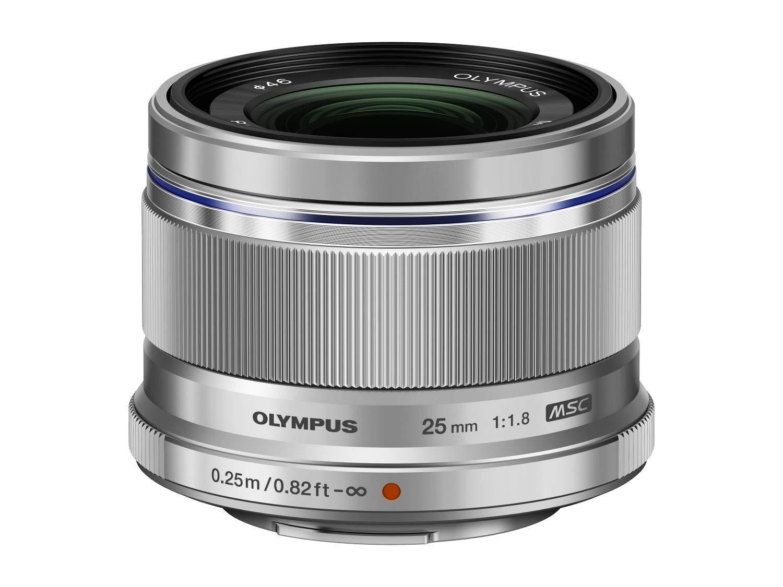 Olympus 25mm 1:1.8 M.Zuiko Digital Lens Black