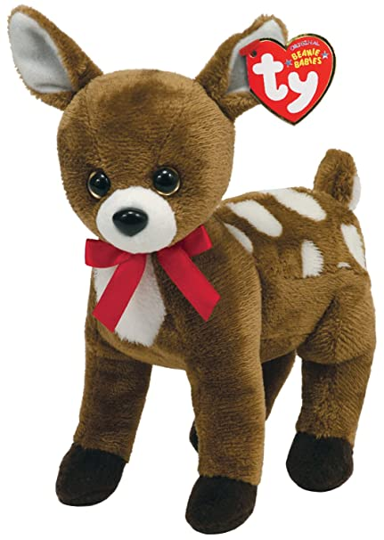 2f7fc2c78a3 Image Unavailable. Image not available for. Color  Ty Beanie Baby -  Chestnut - Reindeer