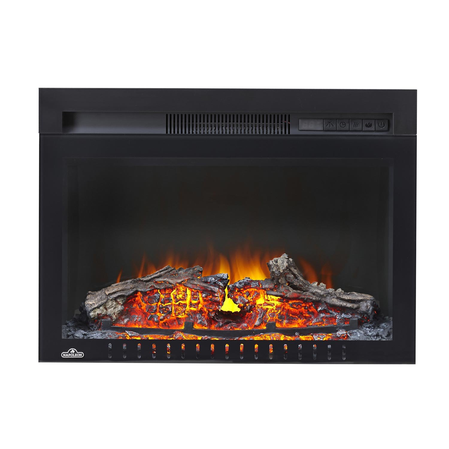 Napoleon Nefb24hg 3a Cinema Glass Series Built In Electric Fireplace 24 Inch