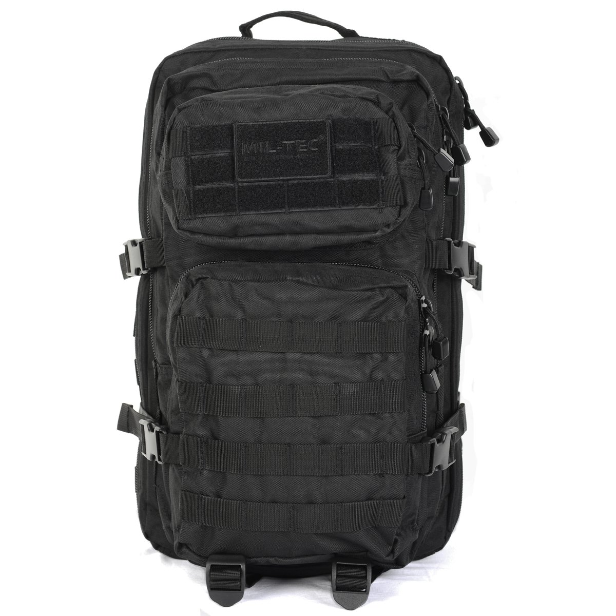 Mil-Tec MOLLE Tactical Assault Backpack - Large 36 Litre (Black)   Amazon.co.uk  Sports   Outdoors 778402c11aa86