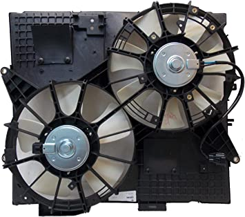 Radiator And Condenser Fan For Buick LaCrosse Cadillac XTS GM3115238