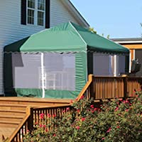 King Canopy 13 x 13 ft. Garden Party Replacement Cover - with Bug Screen Side Walls
