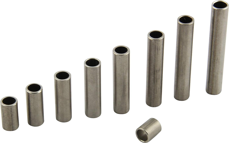 FASTON Lot de 4 manchons d/écartement en acier inoxydable A2 M8 /Ø int/érieur 9 mm