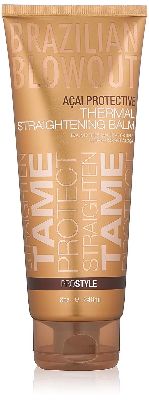 BRAZILIAN BLOWOUT Thermal Straightening Balm, 8 oz: Premium Beauty