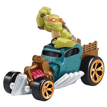Playmates Tortugas Ninja Vehículos T-Machines - Michelangelo ...