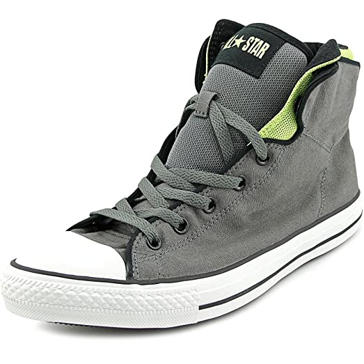 Converse Chuck Taylor Pc Cross Hi Charcoal / Green Ankle-High Canvas  Fashion Sneaker -
