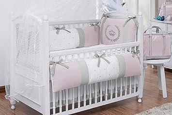 Amazon Com Royal Crown Theme Pink Baby Girl 08 Pcs Nursery