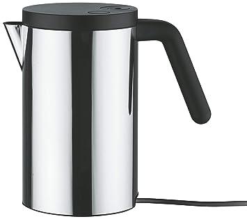 Alessi Hot It - Hervidor de agua eléctrico, 0,80 litros, color negro