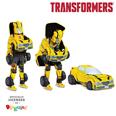 Transformers Child Bumblebee Converting Costume: Toys & Games