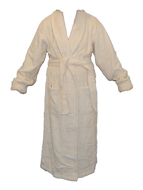 Unbleached Organic Cotton Towelling Robe L XL  Amazon.co.uk  Kitchen   Home 16098db77