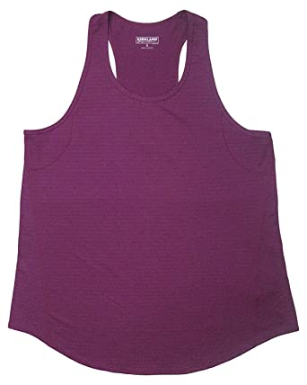 8de292283600d9 Kirkland Signature Ladies' Racerback Moisture Wicking Active Tank at Amazon  Women's Clothing store: