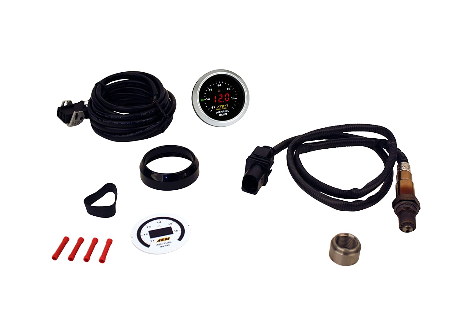Aem 30 4110 Uego Air Fuel Ratio Gauge Automotive Wiring A