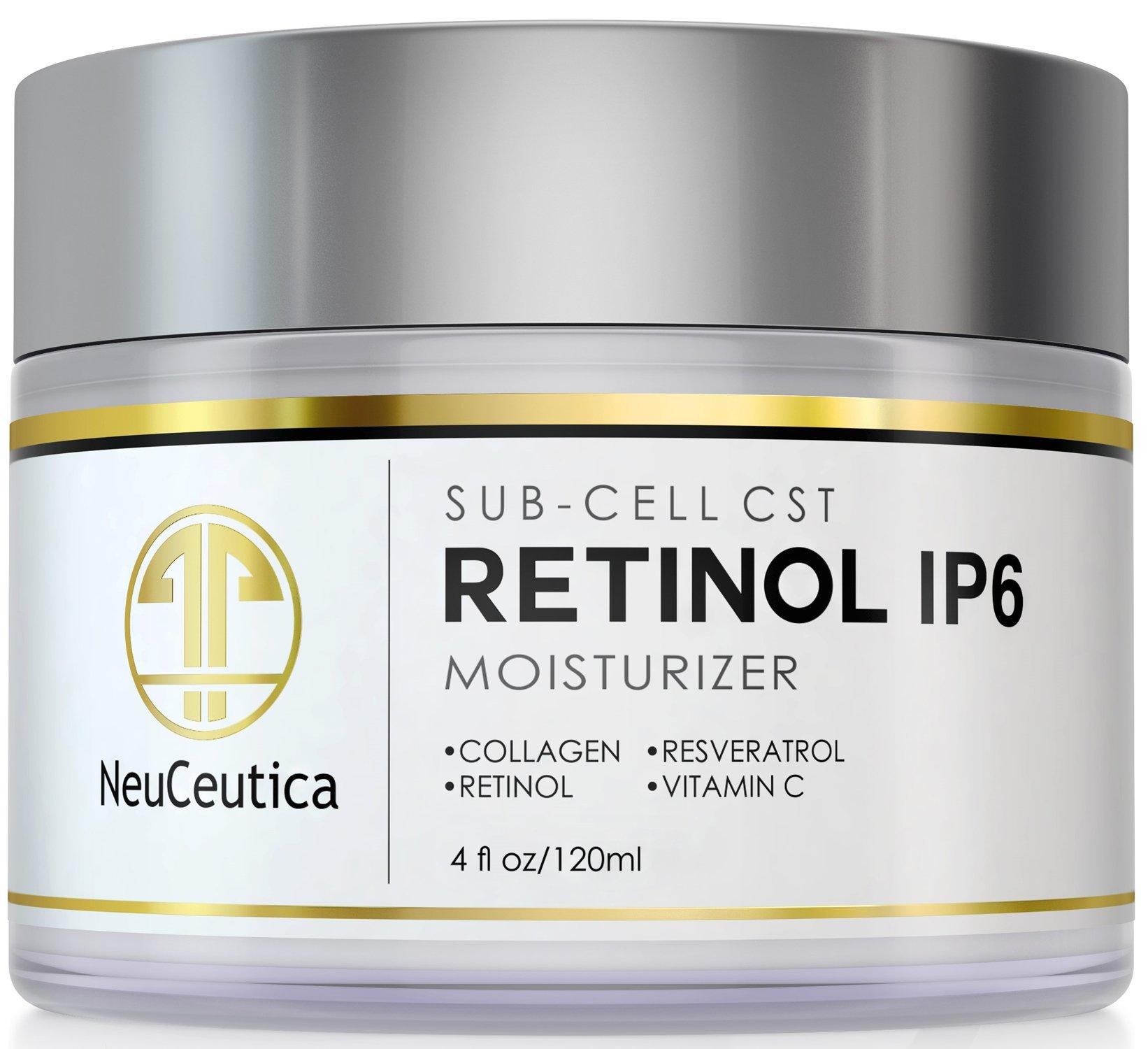 Retinol amounts in moisturizers - Neuceutica Retinol Moisturizer Cream Anti Wrinkle For Neck Face With Collagen Vitamin C