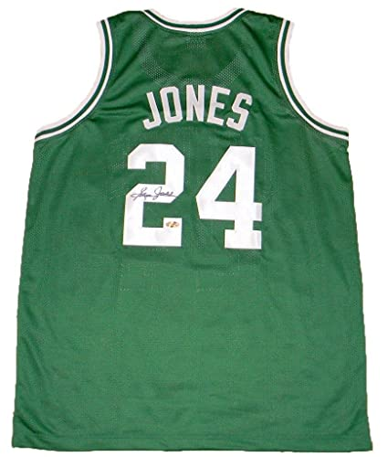 Image Unavailable. Image not available for. Color  Sam Jones (Boston Celtics)  Autographed Jersey ... 638348091