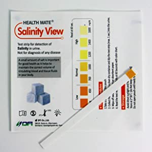 10 x Sodium Test Strips