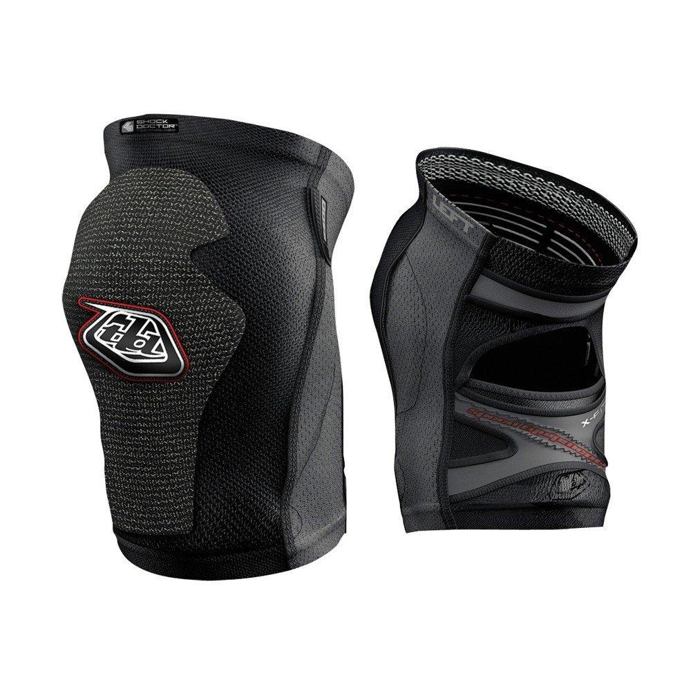 Troy Lee Designs KGS 5400 Knee Guard Solid Black, L by Troy Lee Designs