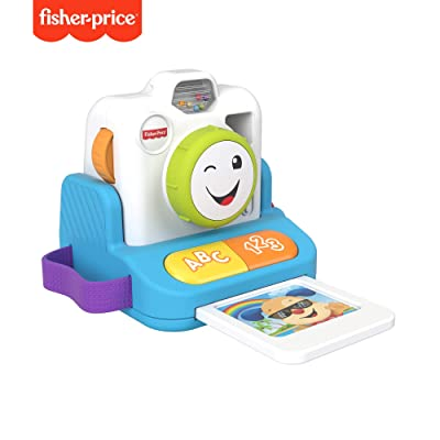 Fisher-Price Laugh & Learn Click & Learn Instant Camera, Musical Toy: Toys & Games