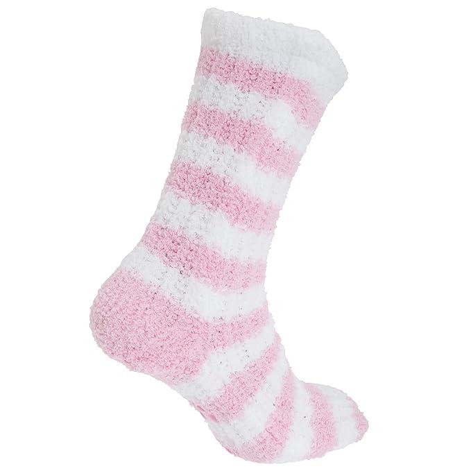 Calcetines de polar suave con agarre en la suela para mujer (37/41/