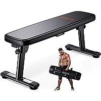 WINNOW Gewicht Bank Vouwen Workout Bench met Draaggreep Flat Home Training Multiuse Fitness Bench …