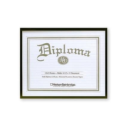 Amazoncom Nielsen Bainbridge Certificate Frame 8 12 In X 11 In