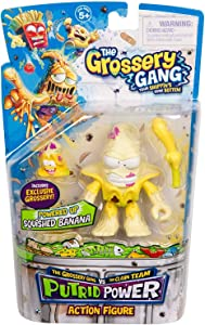 Grossery Gang The Season 3 Action Figurine - Squished Banana