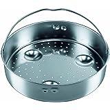 Silit 8032.7011.01 Sicomatic® L - Cesto accesorio para cocción al vapor, agujereado (altura: 56 mm, diámetro: 22 cm)