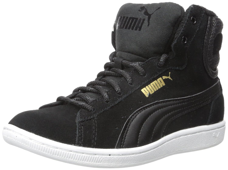 brand new d1a1e 4714f PUMA Women s Vikky Mid Twill Sfoam Fashion Sneaker, Puma Black Puma Black,  11 B(M) US  Amazon.co.uk  Shoes   Bags
