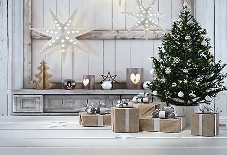 KonPon 5x7ft Christmas Tree Gift Backdrop Christmas Decorations Photography  Backdrop Photo Props Newborns Studio Background Christmas - Amazon.com: KonPon 5x7ft Christmas Tree Gift Backdrop Christmas