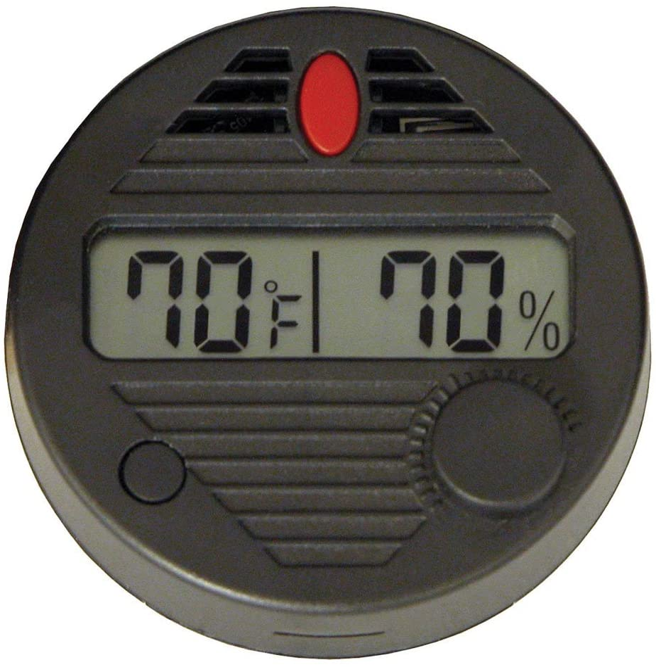 HygroSet II Round Digital Hygrometer