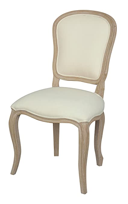 JTW USA CH MUR253 Murano Chateau Dining Chair, Natural