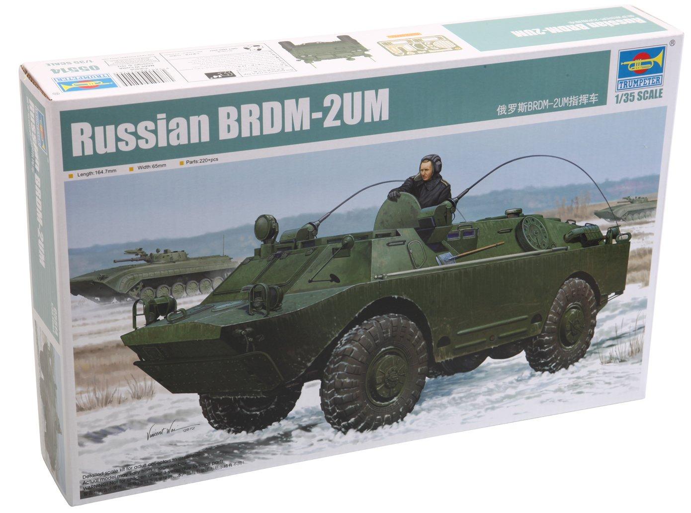 Trumpeter Russian BRDM2UM Amphibious Command Vehicle (1/35 Scale)