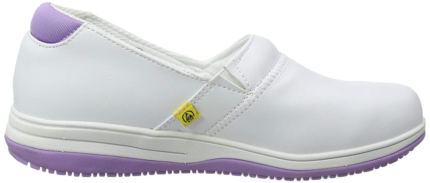 Oxypas Suzy Wht Womens Safety Shoes Blanco .5 EU