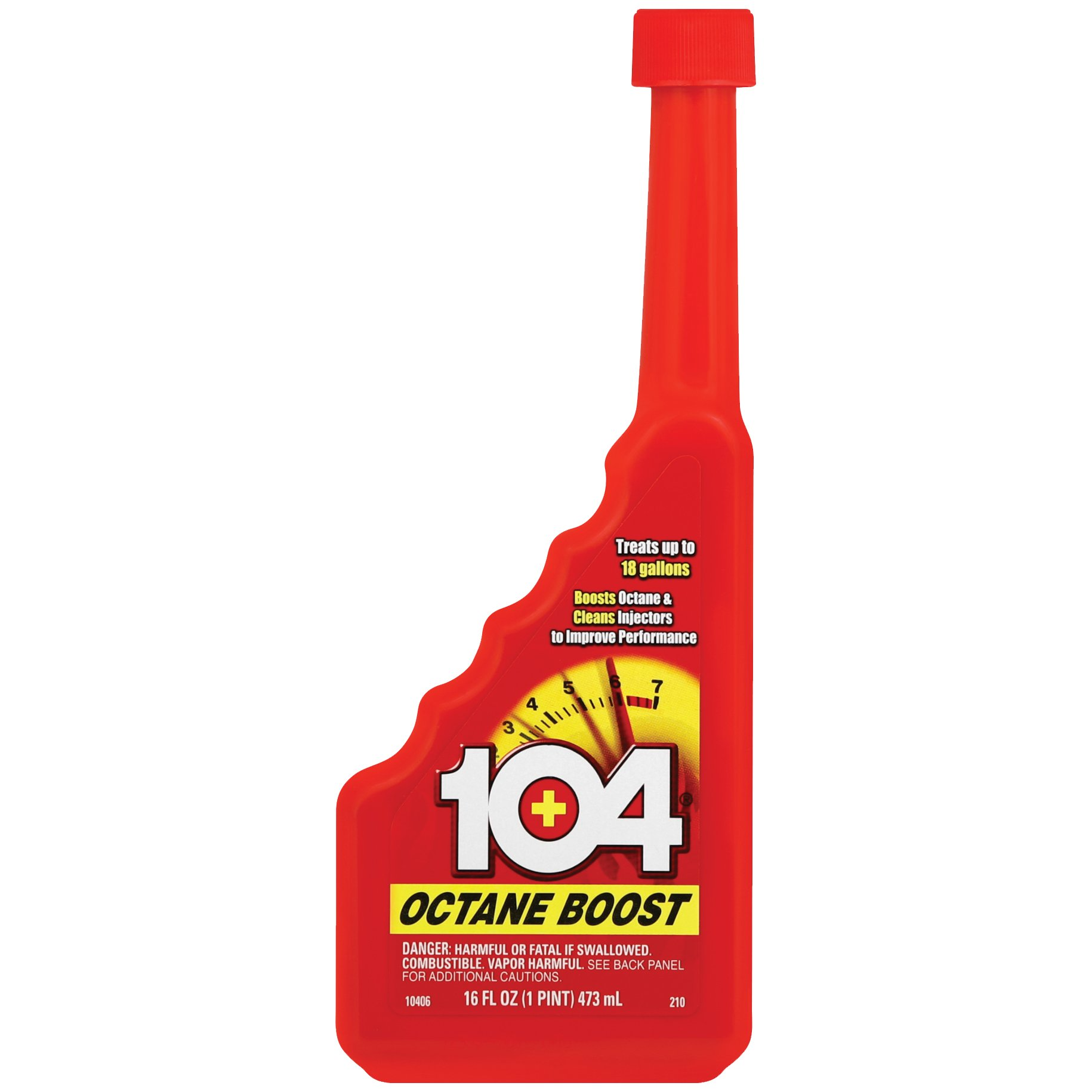 104+ 10406-6PK Octane Boost, 16 Fl. oz. (Pack of 6) by Unknown