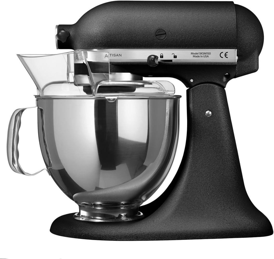 KitchenAid 5KSM150PSEBK - Kitchenaid Robot de Cocina Artisan, Color Negro: Amazon.es: Hogar