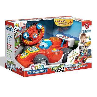 Baby Clementoni - Coche Eugenio de Carreras teledirigido (550463): Juguetes y juegos