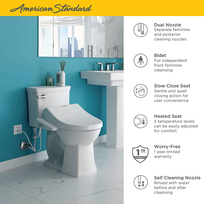 American Standard 8013A80GPC-020 Advanced Clean AC 1.0 Spa let Bidet ...
