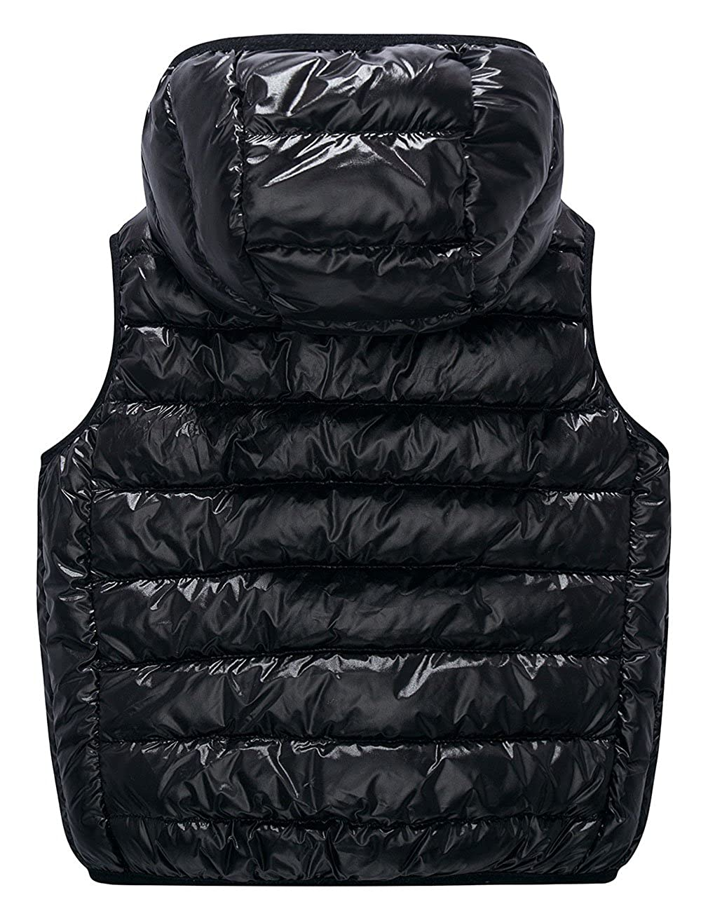 Spring/&Gege Kids Lightweight Quilted Packable Hooded Puffer Down Vest