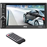 """Pyle Radio Receiver   Double Din Car Stereo   6.5"""" Touch Screen   Bluetooth Audio Receiver   Wireless Streaming   Microphone   Handsfree Bluetooth   USB/SD Memory Card   AUX/MP3 Input   (PLRUB69)"""