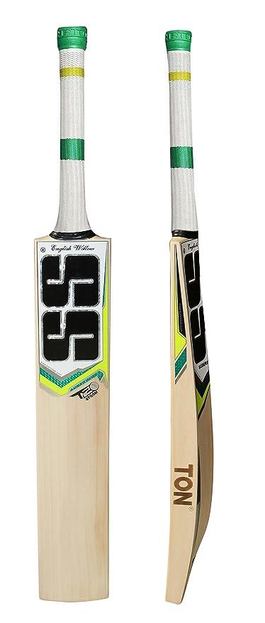 0b7d96780 Amazon.com   SS T20 Storm English Willow Premium Cricket Bat (Free ...