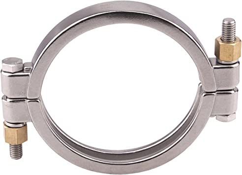 Sanitary SS304 3 Pack High Pressure Tri Clamp3 inch Bolted