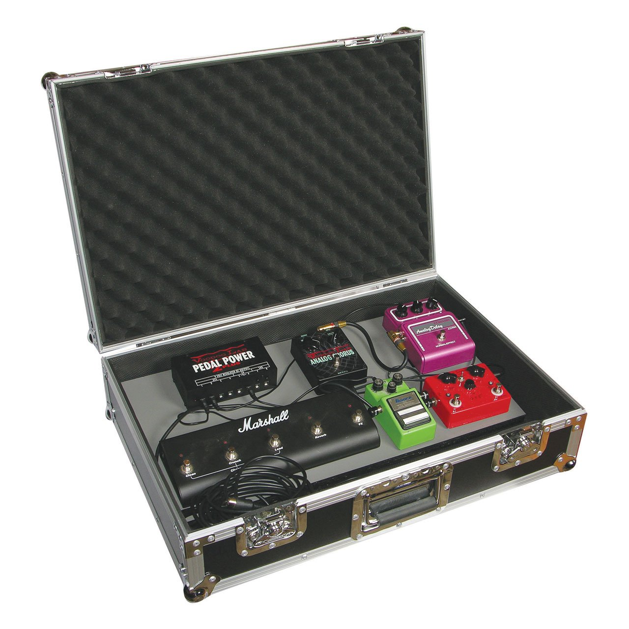 Odyssey FZGPEDAL24 Flight Zone 24 Guitar Pedal Board Ata Case Odyssey Innovative Designs