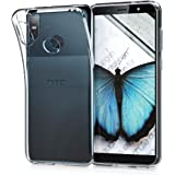 kwmobile Crystal Case for HTC U12 Life - Soft Flexible TPU Silicone Protective Cover - Transparent