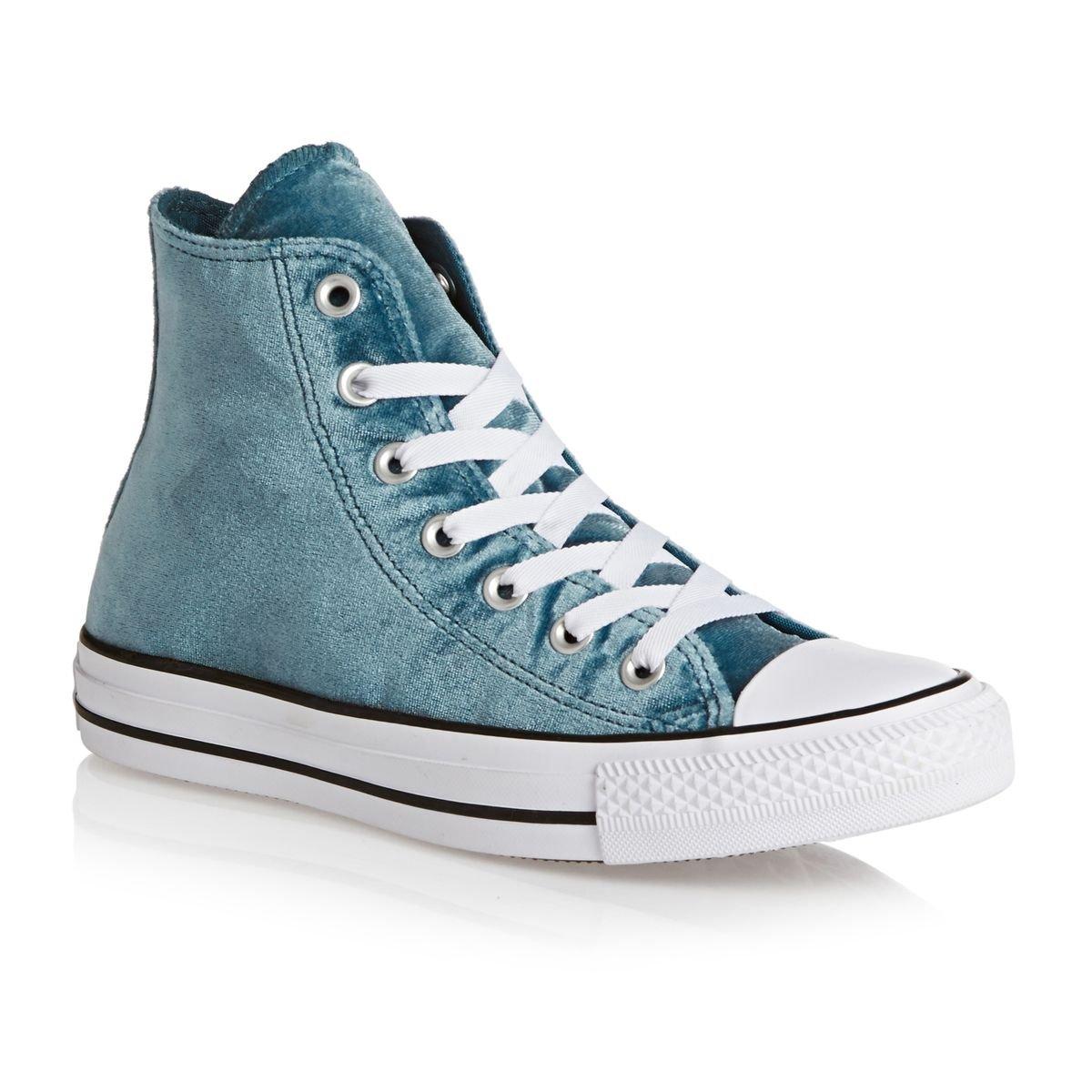 a1eb08d885 Converse Womens Velvet Chuck Taylor All Star Hi-Top Sneakers